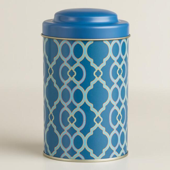 Ethel Blue Tea Tin, Set of 4