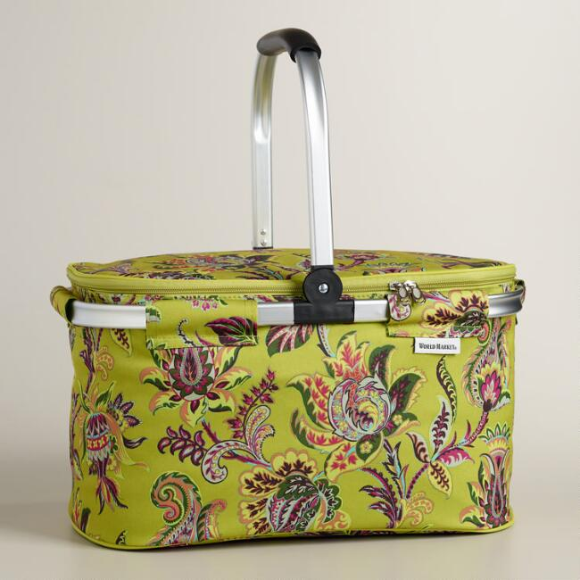 Sahara Bloom Insulated Collapsible Tote