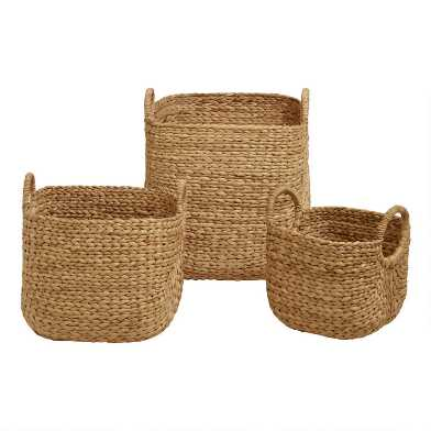 Square Arrow Hyacinth Aimee Basket