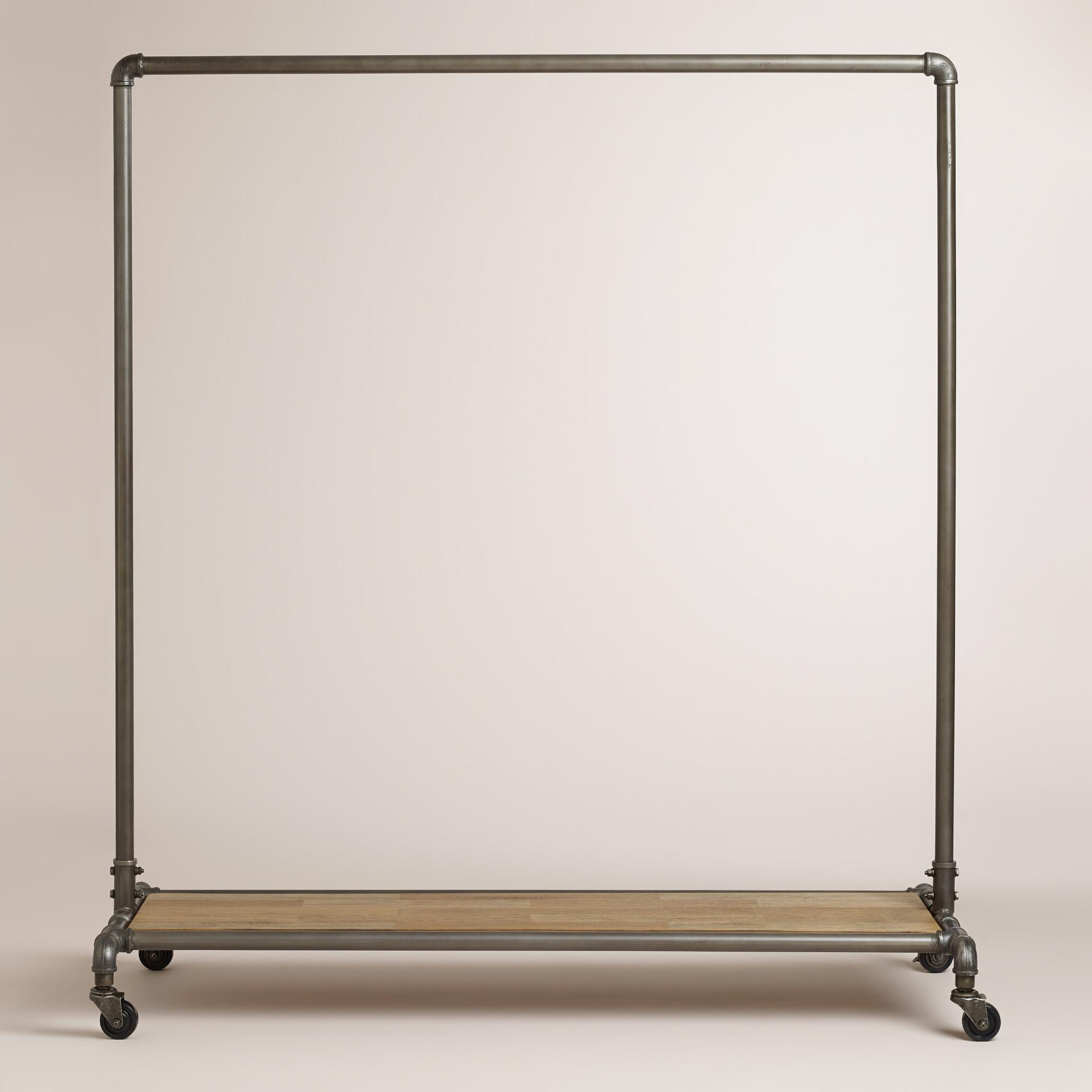 shelf black clothes proportions hook rack wall coat regarding plus metal and x mirror with