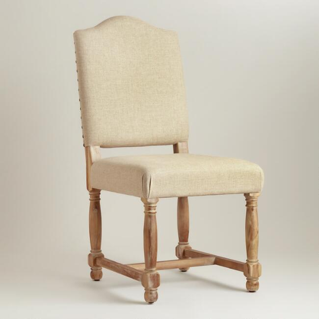 Linen Maddox Chairs, Set of 2