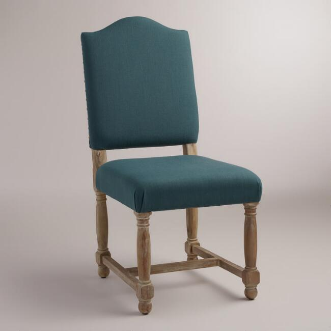 Teal Blue Maddox Chairs, Set of 2