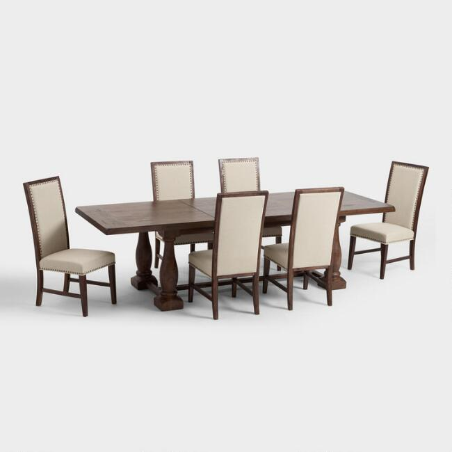 Rectangular Java Greyson Dining Collection
