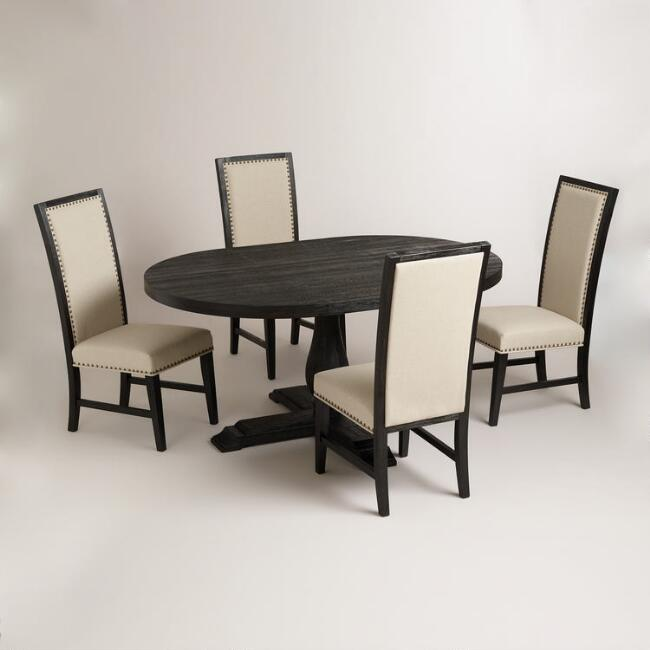 Round Black Greyson Dining Collection