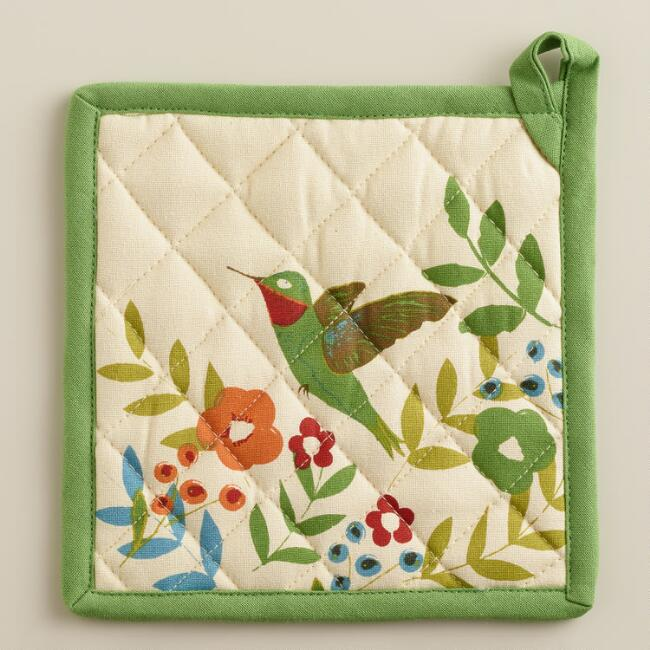 Woodland Birds Potholder