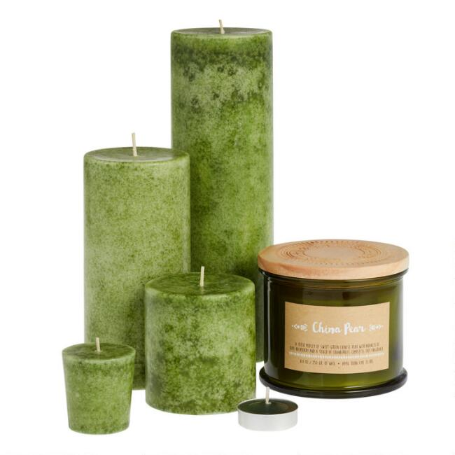 China Pear Candle Collection