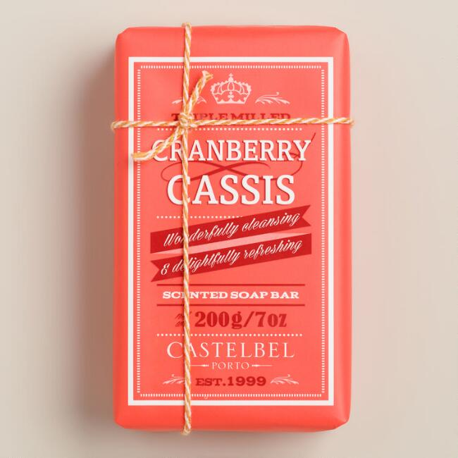 Castelbel Retro Cranberry Cassis Soap