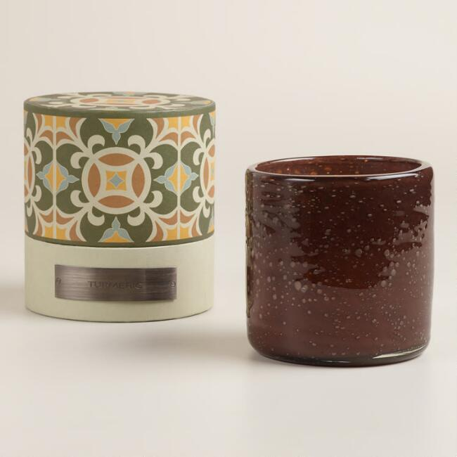 Turmeric Filled Jar Boxed Candle