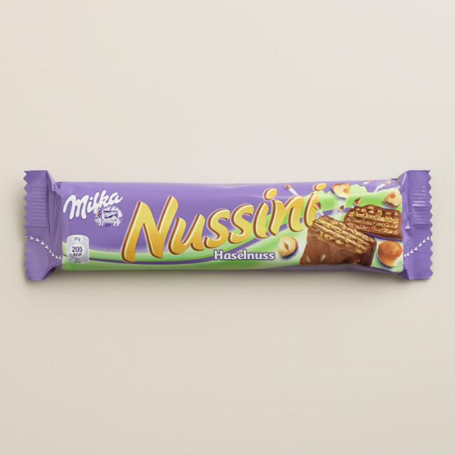 Milka Nussini Hazelnut Chocolate Bar