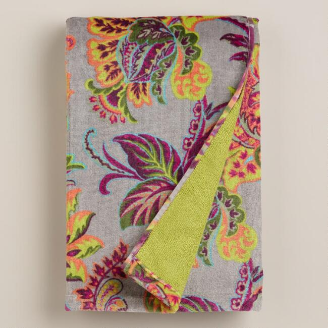 Sahara Bloom Bath Towel