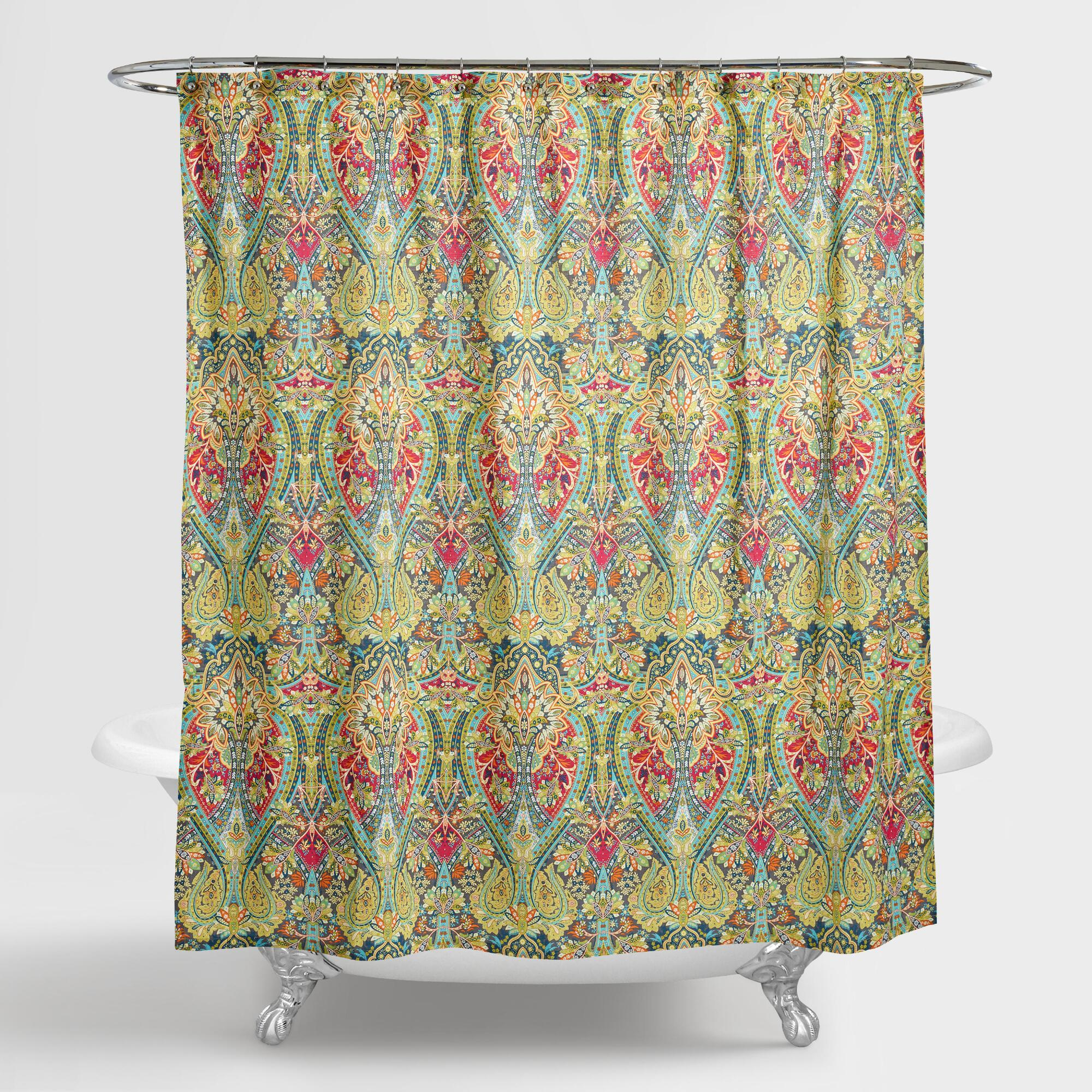 alessia shower curtain - Colorful Shower Curtains