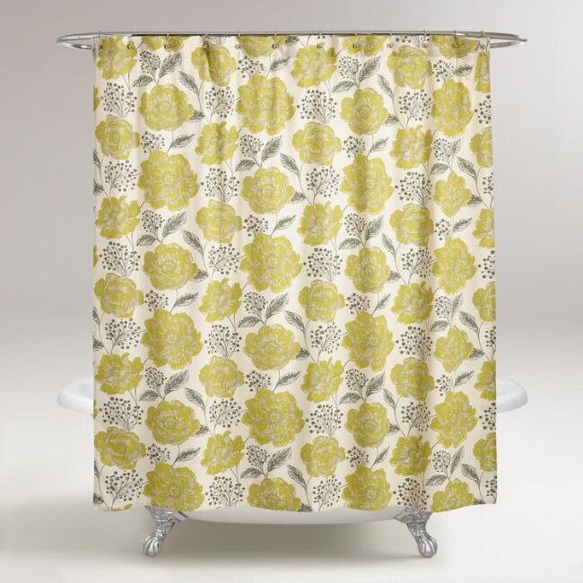 Fortress Bouquet Shower Curtain