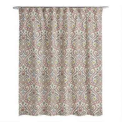 Treetop Shower Curtain