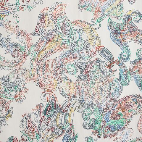 Multicolor Paisley Shower Curtain. Previous. v2 - Multicolor Paisley Shower Curtain World Market