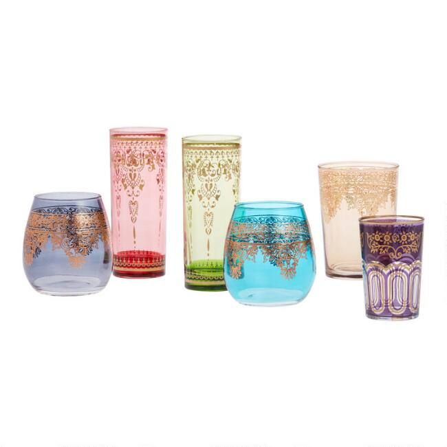 Moroccan Glassware Collection