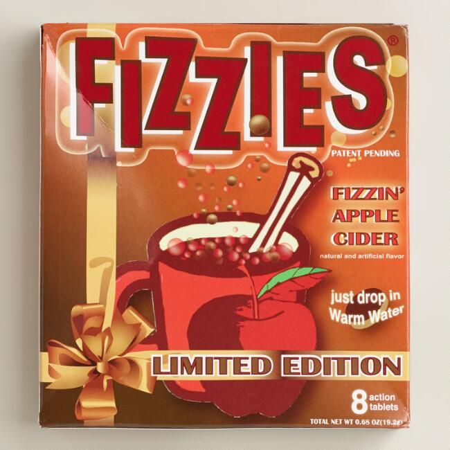 Fizzies Apple Cider Tablets, Set of 6