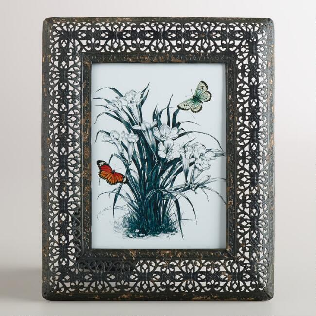 Medium Black Filigree Adalyn Frame