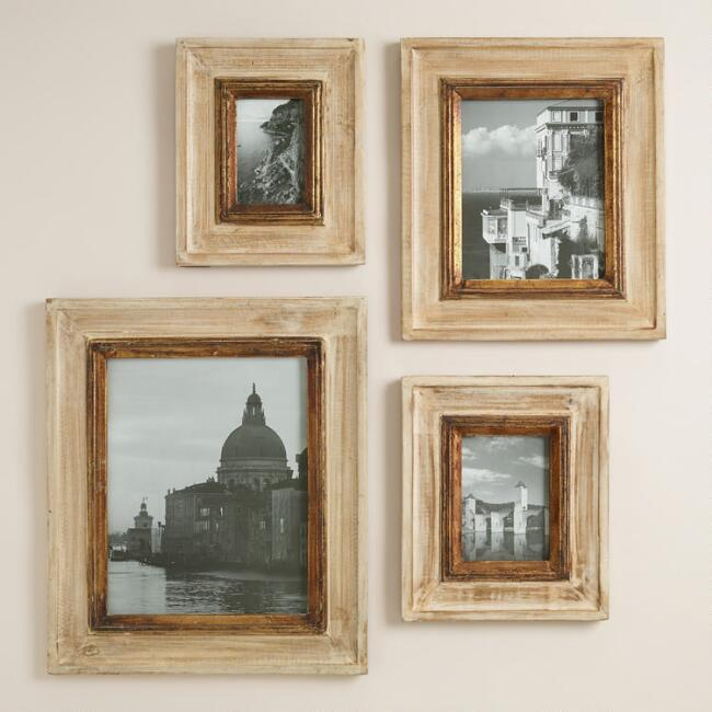 Gold and Natural Leo Wall Frames