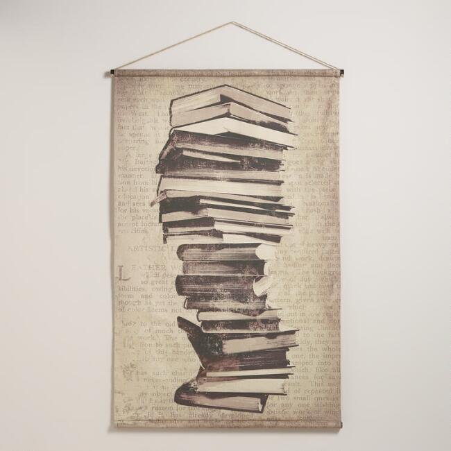Books Tapestry