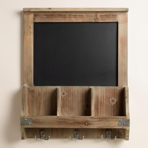 Elliot Chalkboard Cubby And Hook Wall Storage Previous V3 V1