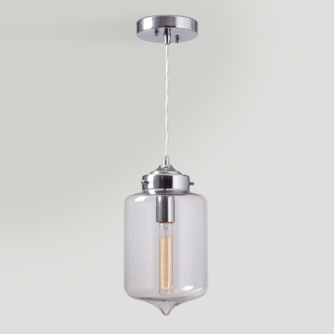 Teardrop Glass Pendant Lamp