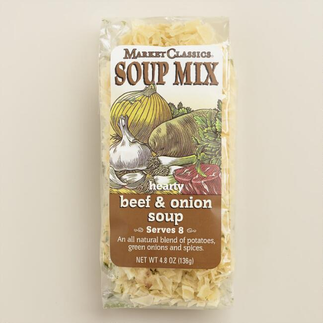 MC Beef and Onion Soup, Set of 2