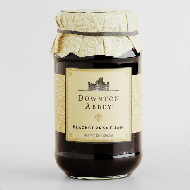 Downton Abbey Blackcurrant Jam