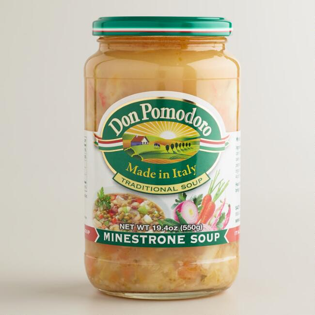 Don Pomodoro Minestrone Soup, Set of 6