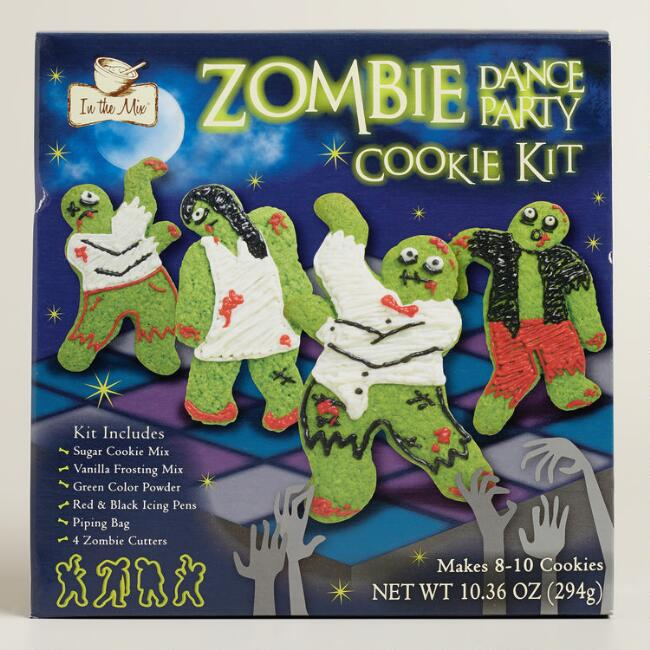 Zombie Dance Party Cookie Kit, Set of 2