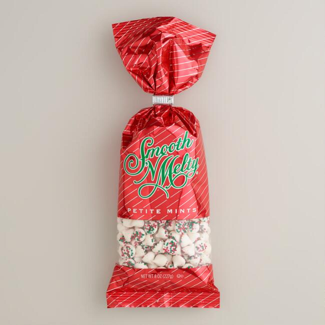 Guittard Smooth and Melty Petite Christmas Mints