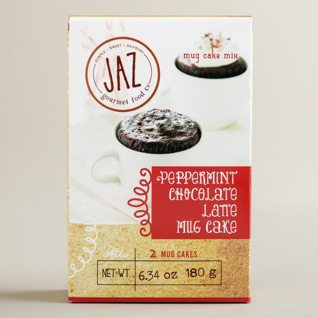 JAZ Peppermint Latte Mug Cake Mix, Set of 2
