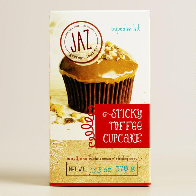 JAZ Sticky Toffee Cupcake Mix, Set of 2