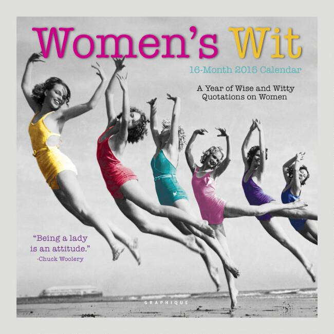 Women's Wit 12-Month Wall Calendar