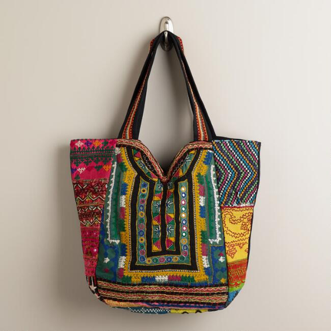 Sari Patchwork Bag
