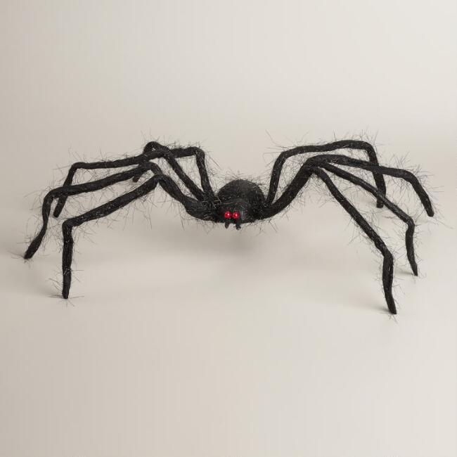 Shaggy  Fabric Spider