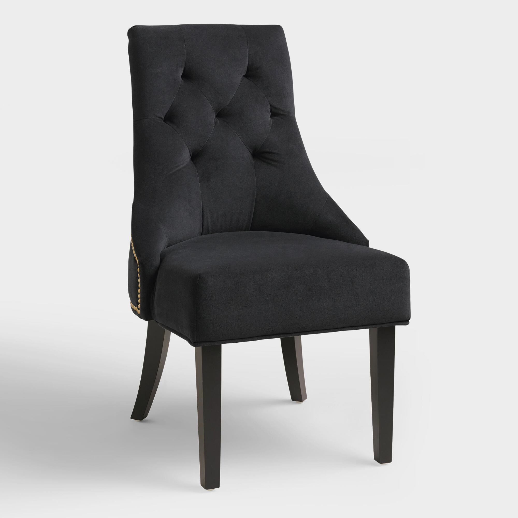 Dining room chair - Black Lydia Dining Chairs Set Of 2