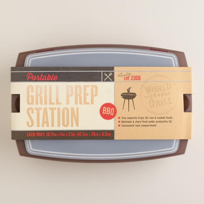 4 Piece Grill Station