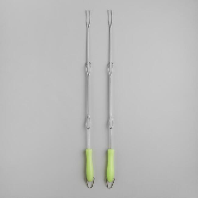 Glow-in-the-Dark Telescoping Forks, 2 Pack