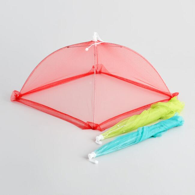 Collapsible Mesh Food Tent, Set of 3