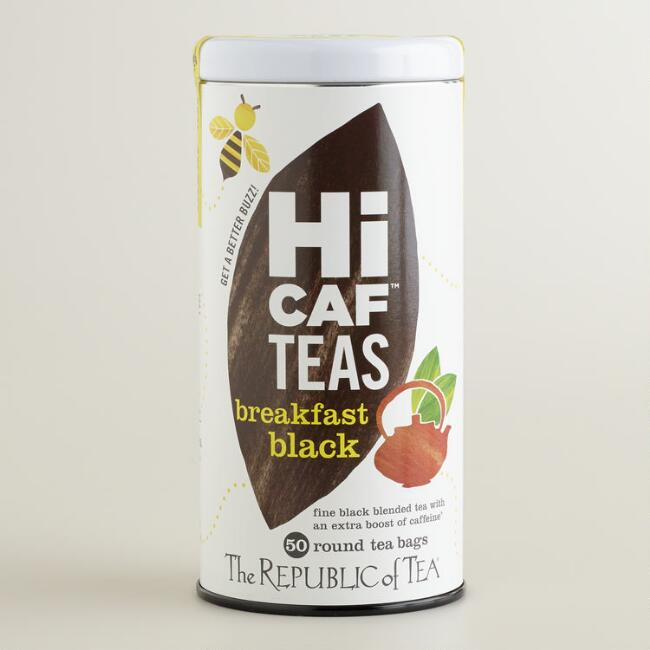 The Republic of Tea HICAF Breakfast Black Tea, 50-Count