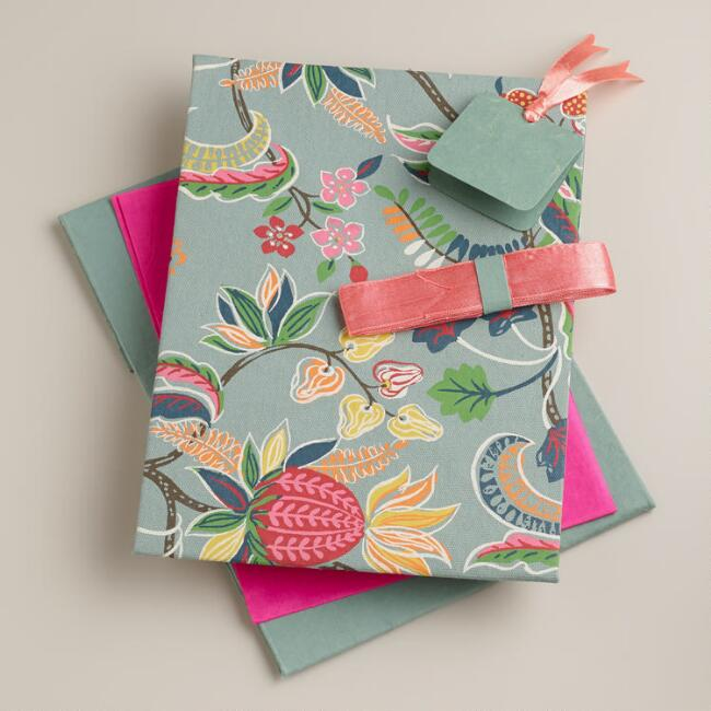 Gray Henry Floral Handmade Gift Box Kit
