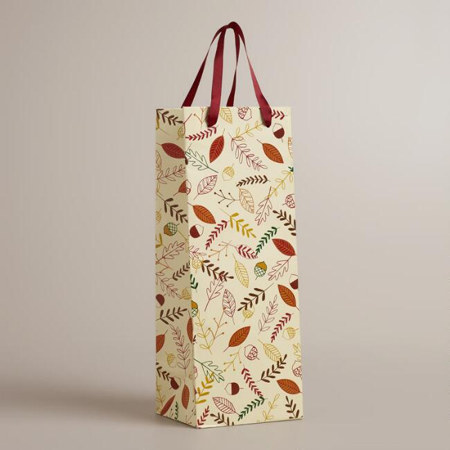 Be Thankful Wine Bag