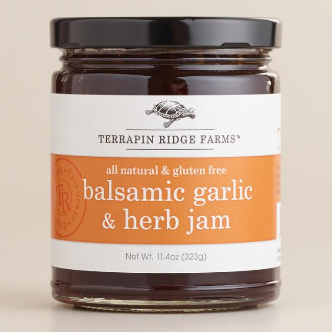 Terrapin Ridge Farms Balsamic Garlic and Herb Jam