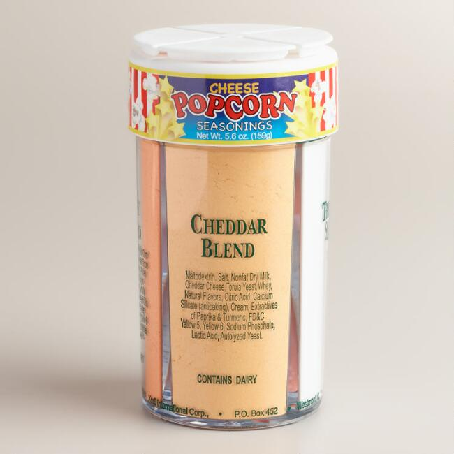 Fun Pack Foods Four-in-One Cheese Popcorn Seasoning