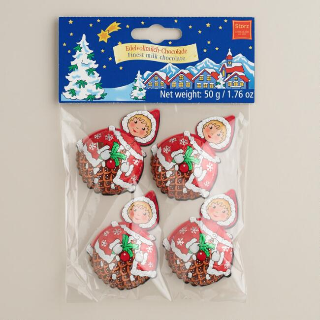 Storz Mrs. Santa Claus Chocolates, Set of 6