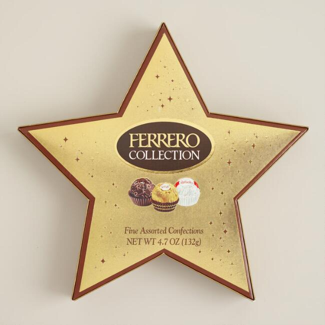 Ferrero Rocher Chocolate Star Gift Box
