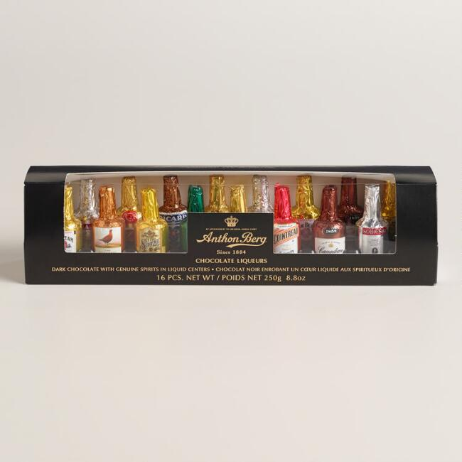 Anthon Berg Genuine Liquor Chocolates, 16-Piece