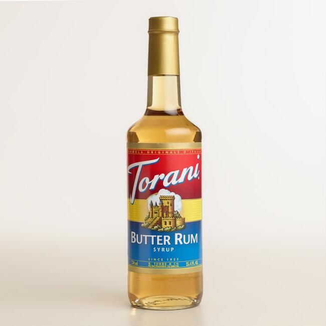 Torani Butter Rum Syrup
