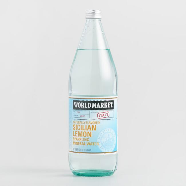 World Market® Sicilian Lemon Sparkling Water