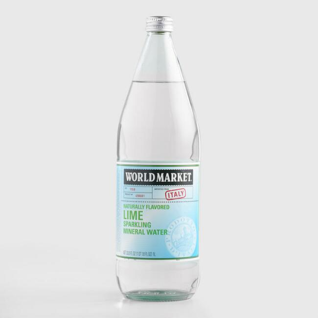 World Market® Lime Sparkling Water